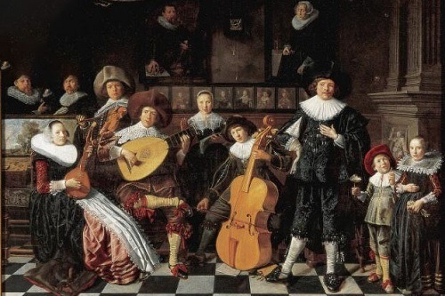 Group Of People Playing Baroque Music