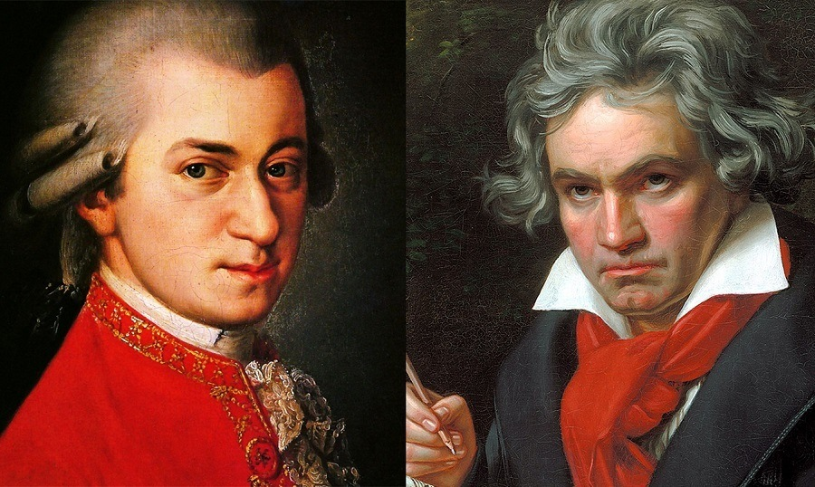 Mozart & Beethoven - Legends Of Classical Music