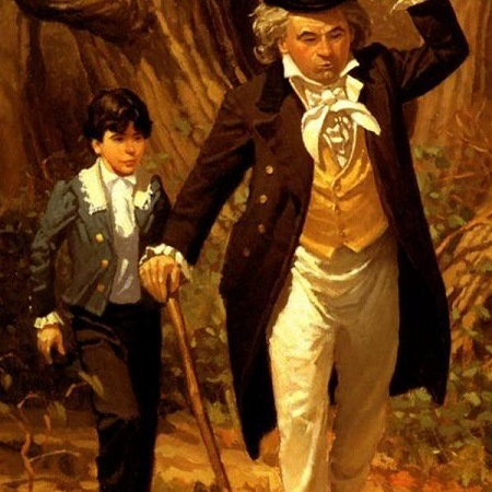 Beethoven And His Father